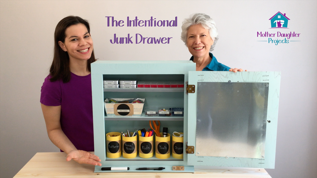 The Intentional Junk Drawer. MotherDaughterProjects.com