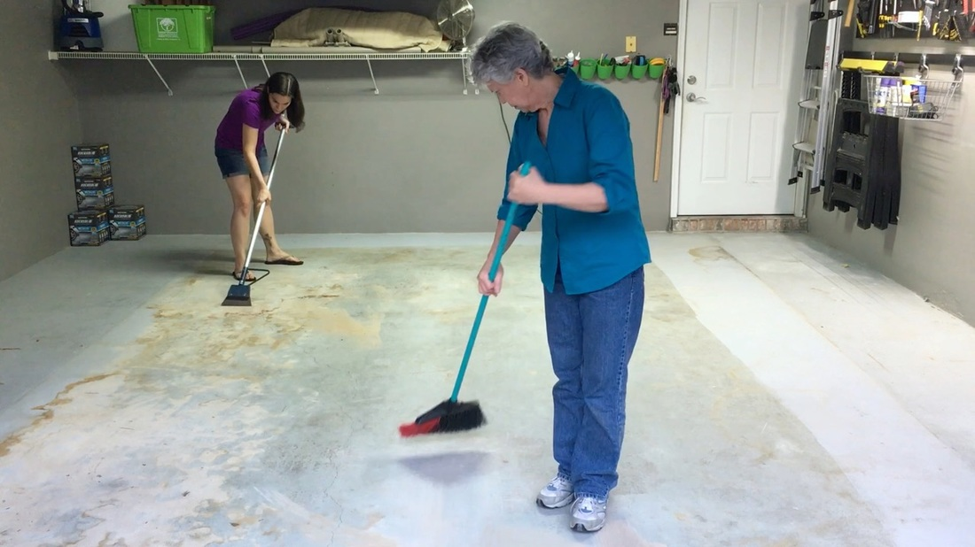 Rust Oleum Rocksolid Floor Coating Mother Daughter Projects