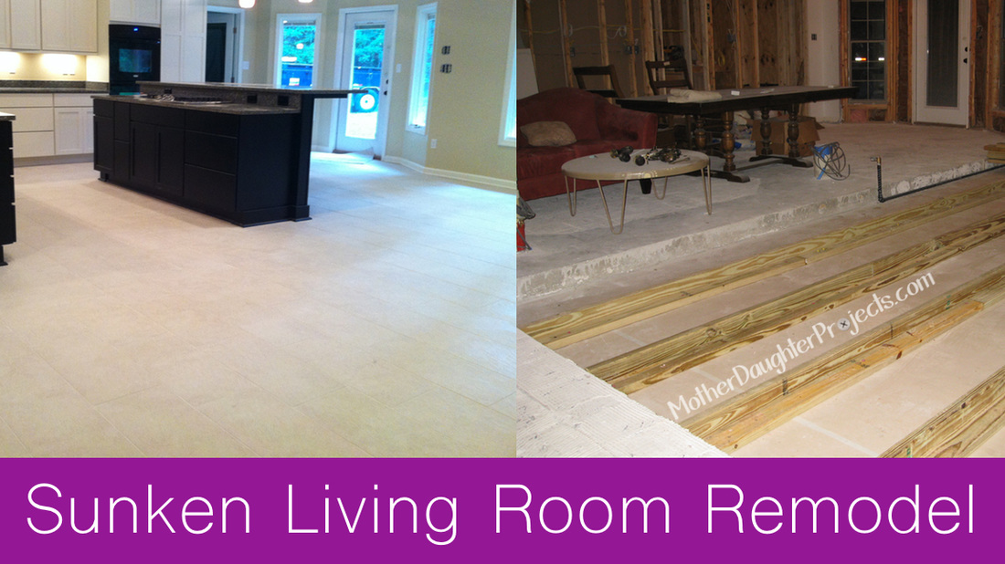 Raising A Sunken Living Room