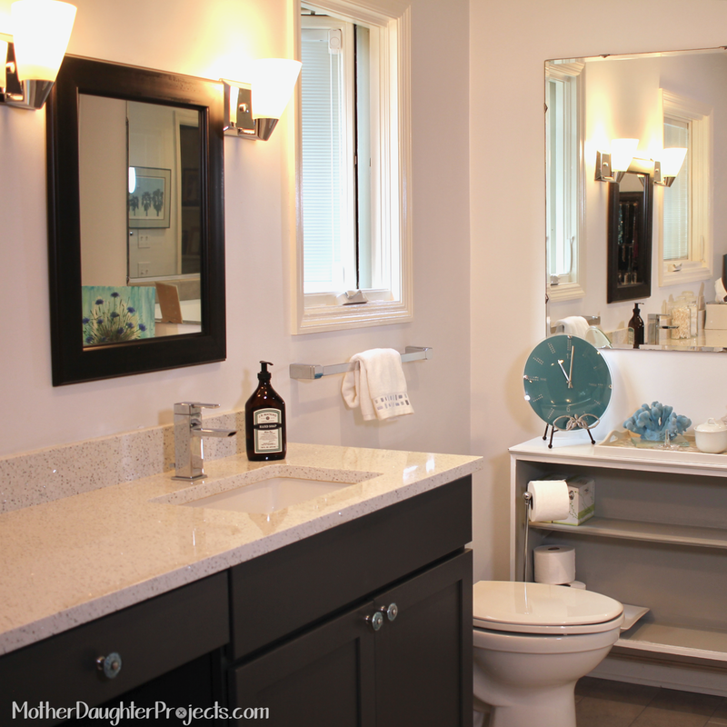 How To Fix Bathroom Ceiling Paint Peeling: Mother Daughter Projects