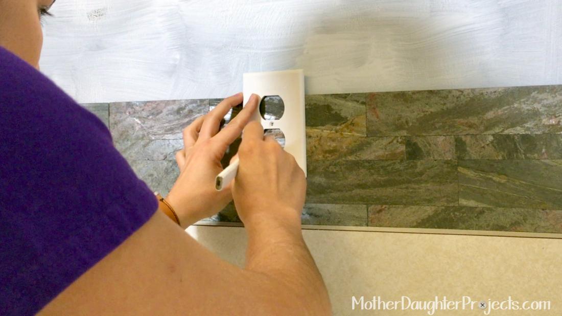 how to install a peel u0026 stick mosaic tile kitchen backsp