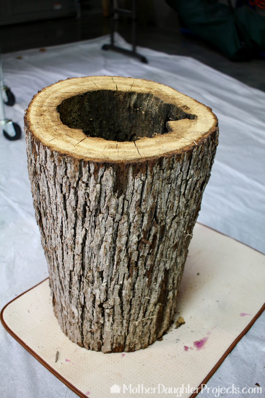 Led Hollow Log Lamp Mother Daughter Projects