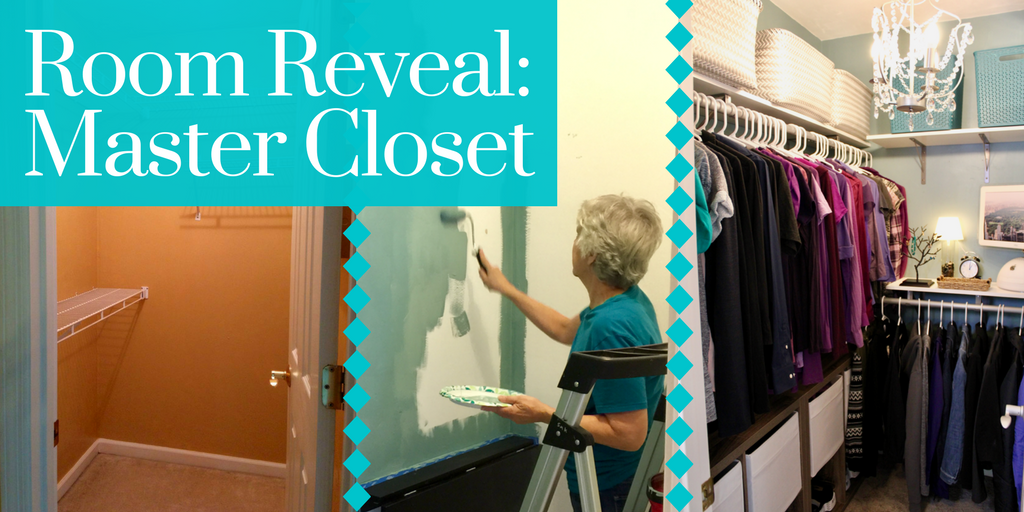 Learn how to use supplies you can buy from the hardware store to update and transform your closet into an organized and beautiful space!
