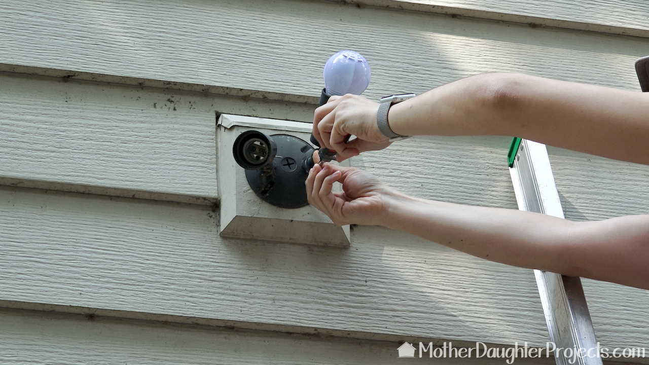 Battery Operated Security Camera >> How to Install Ring Flood Light Cam - Mother Daughter Projects