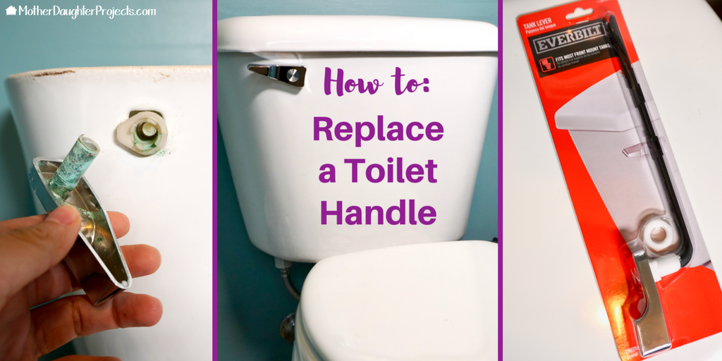 How To Replace A Toilet Tank Lever Mother Daughter Projects