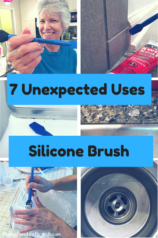7 Uses for a Silicone Brush. MotherDaughterProjects.com