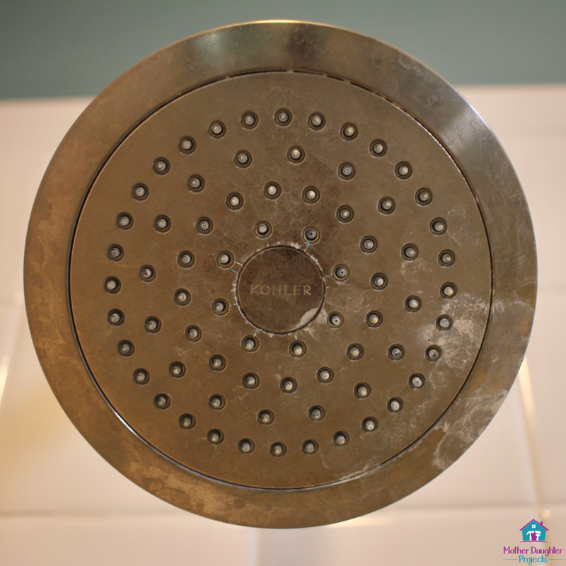 Learn How To Clean Mineral Deposits From A Showerhead With Vinegar And How  To Get Each