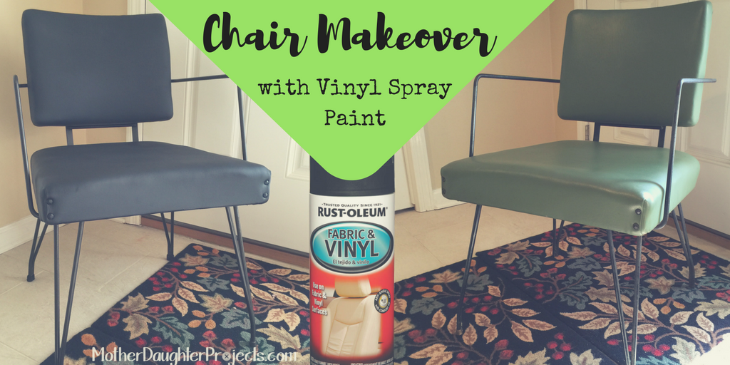 Lovely Vinyl Spray Paint. MotherDaughterProjects.com