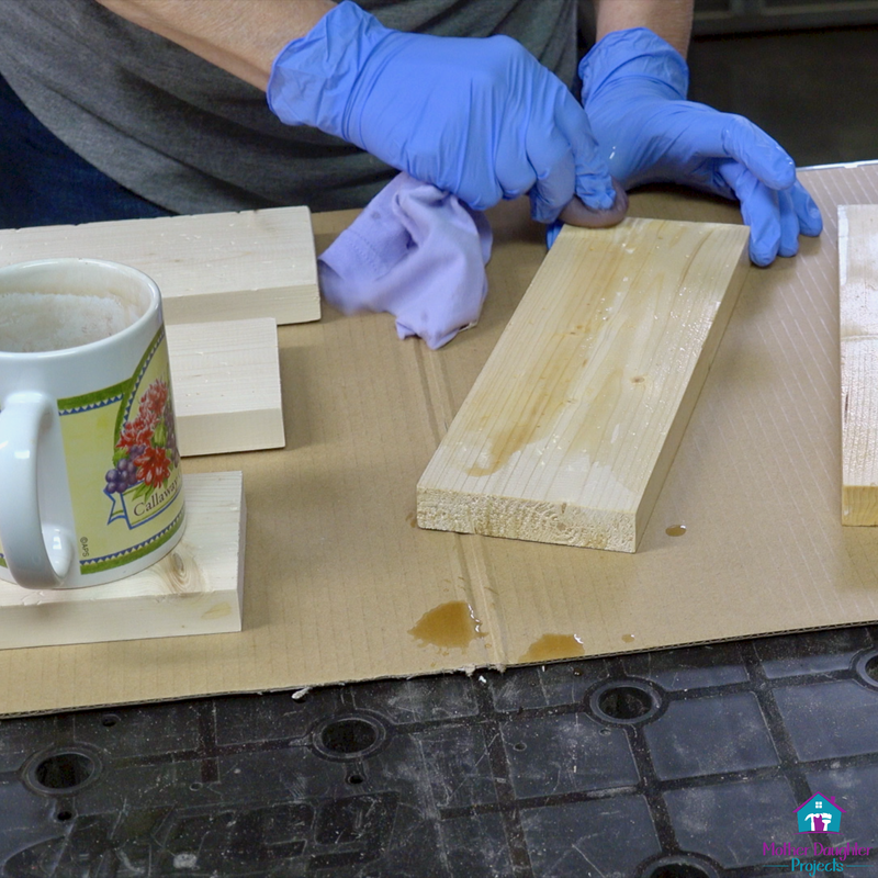 Learn how to make a wood tray from store bought wood. Great for home decor, breakfast in bed, or laptop table.