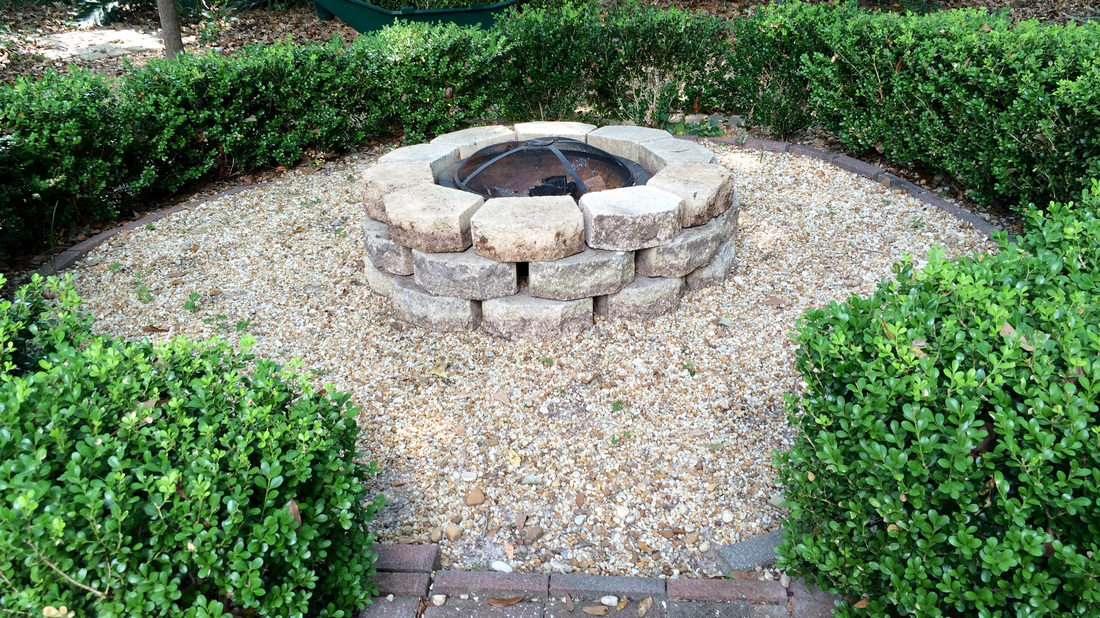 Quick & easy fire pit. MotherDaughterProjects.com
