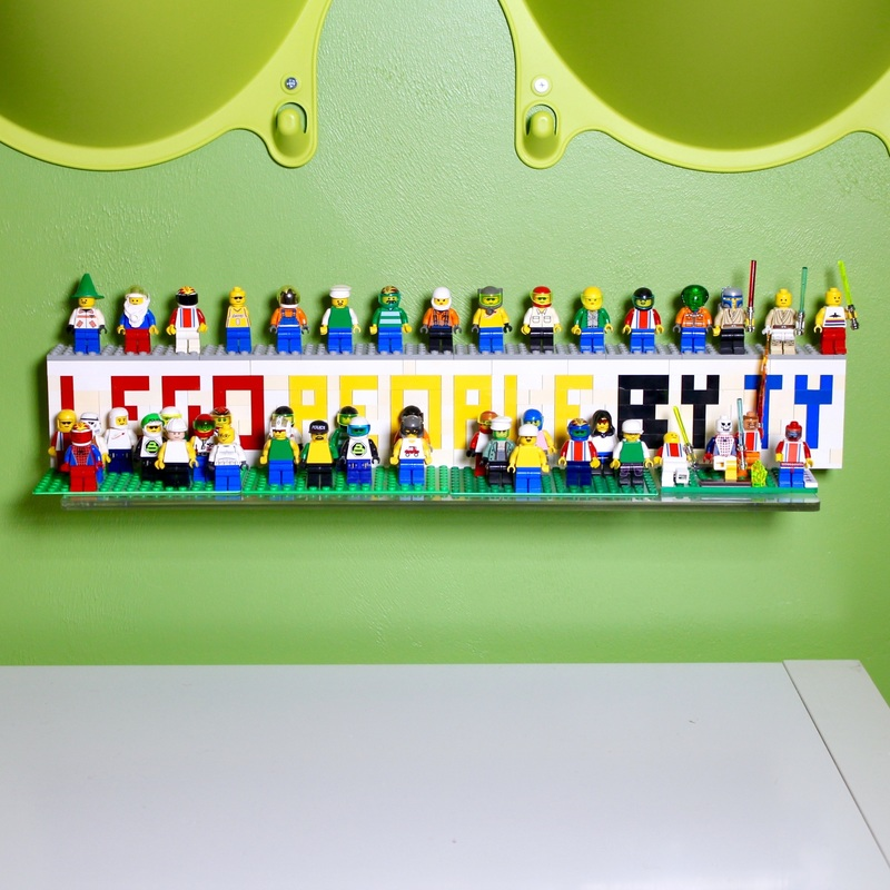 Lego People by Ty. MotherDaughterProjects.com