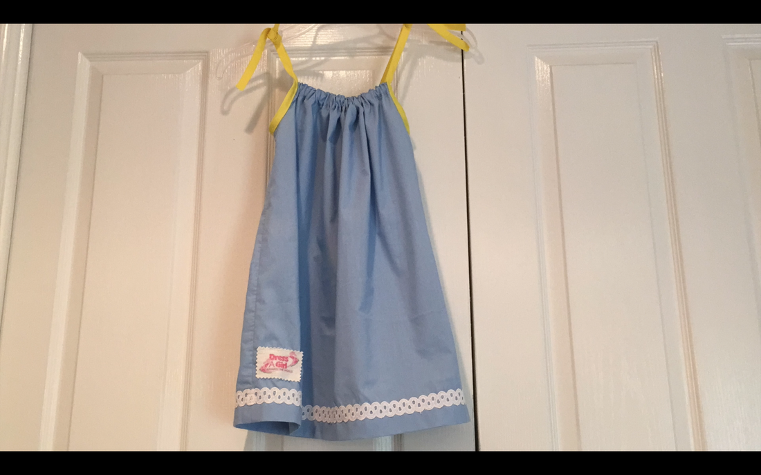 How to Make a Pillowcase Dress: Finished! MotherDaughterProjects.com