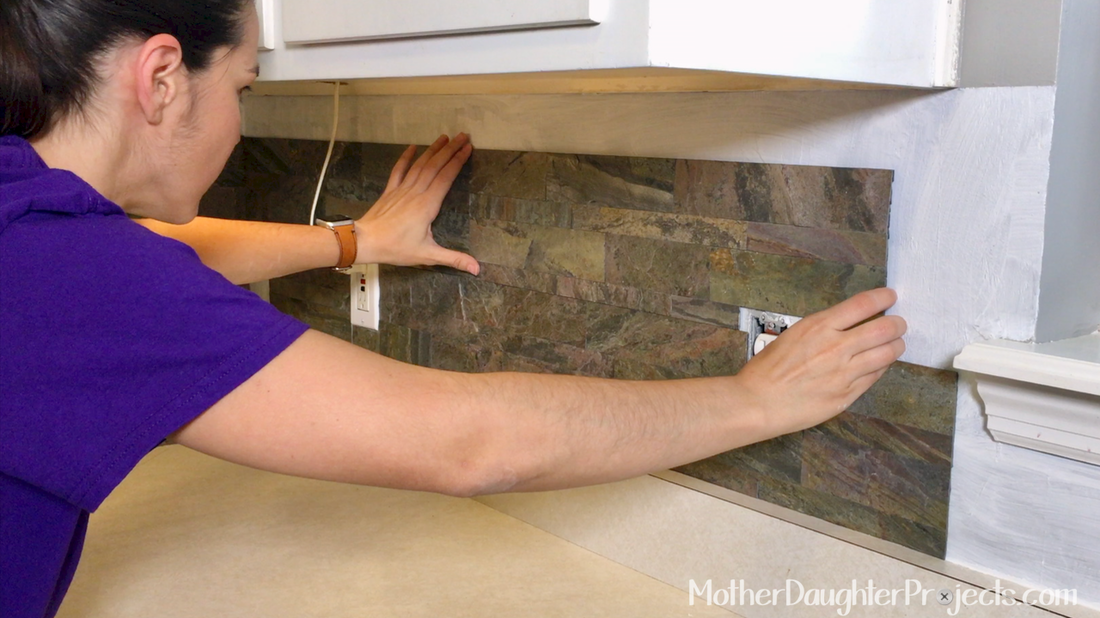 How To Install Peel And Stick Kitchen Tile Mother Daughter