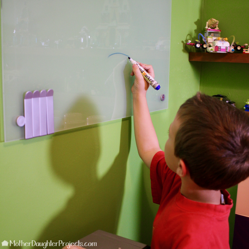 Learn how to make the ultimate adult or kids lego room with these IKEA hacks!