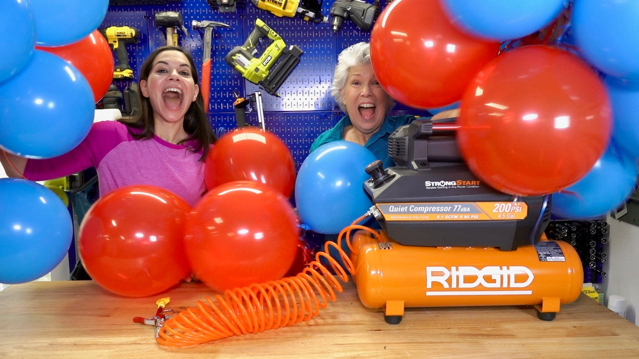 Celebrating 1 million views on YouTube with our Bunch O Balloons self sealing party balloons!