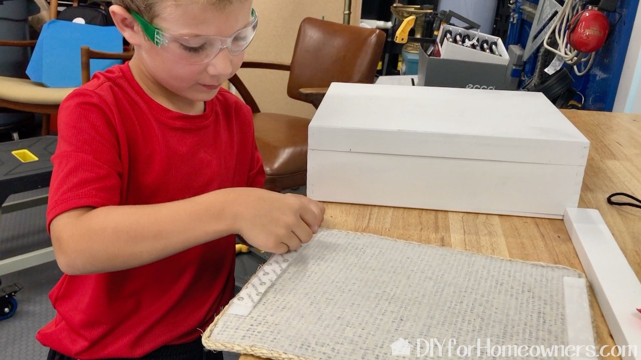 Making the carpet pieces removable by adding velcro to the backs.