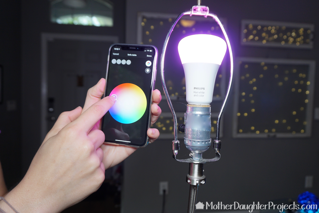 PictSee how to add some smart features to your home with these light bulbs! #smarthome #homedepot #automation #philipsure