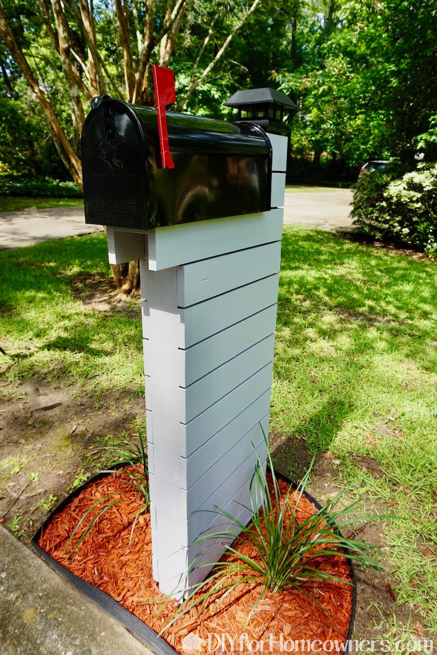 Image of: How To Build A Mid Century Inspired Mailbox Mother Daughter Projects