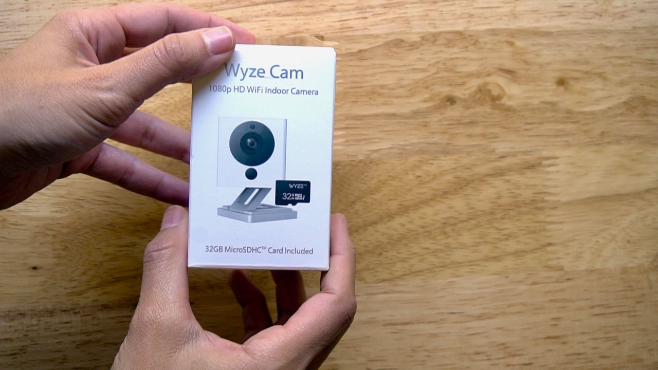 You can buy the Wyze Cam with or without a SD card.