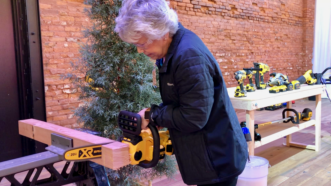 DeWalt chainsaw.
