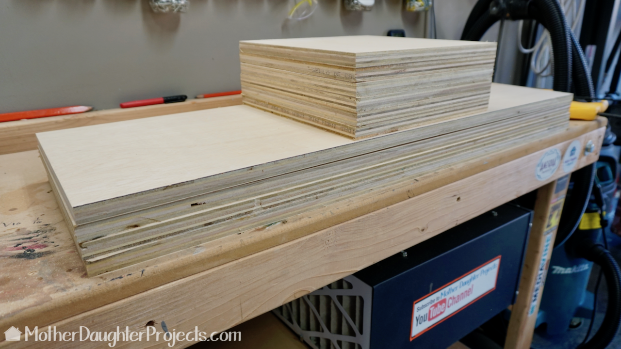 Learn how to make a shelf or bookshelf out of one sheet of plywood. This is a great place to display your collection of books, lego, and more!